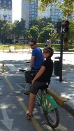 En route pour un tour de ville à vélo!