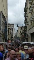 Il y a foule au marché de San Telmo le dimanche!