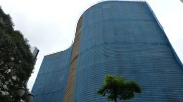 """L'edificio Copan a été conçu, un peu comme la """"cité radieuse"""" à Marseille, dans l'idée d'un village vertical"""