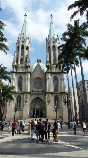 La Catedral da Sé est monumentale