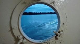 La vue depuis les salles d'eaux