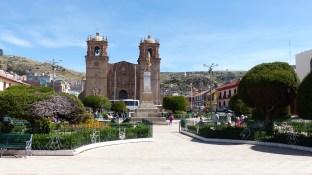 La plaza de armas de Puno