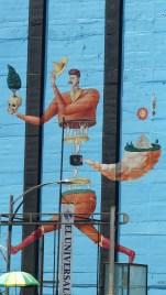 Fresque murale près de la Reforma