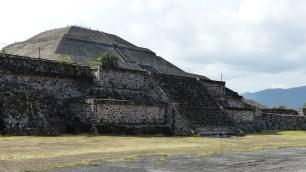 La pyramide du Soleil fait 70m de haut actuellement