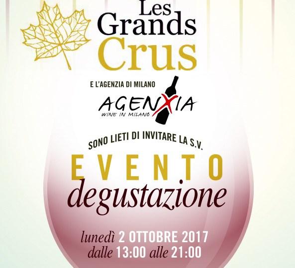 Evento degustazione Les Grands Crus a Milano