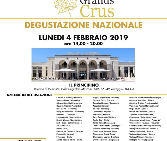 Evento degustazione Les Grands Crus a Viareggio