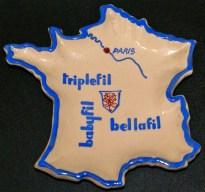Triplefil, Cendrier publicitaire France