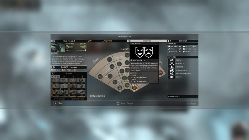 EL - Espionage - Face reader skill