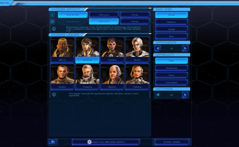 Sid Meier's Starships — 2 парадигмы
