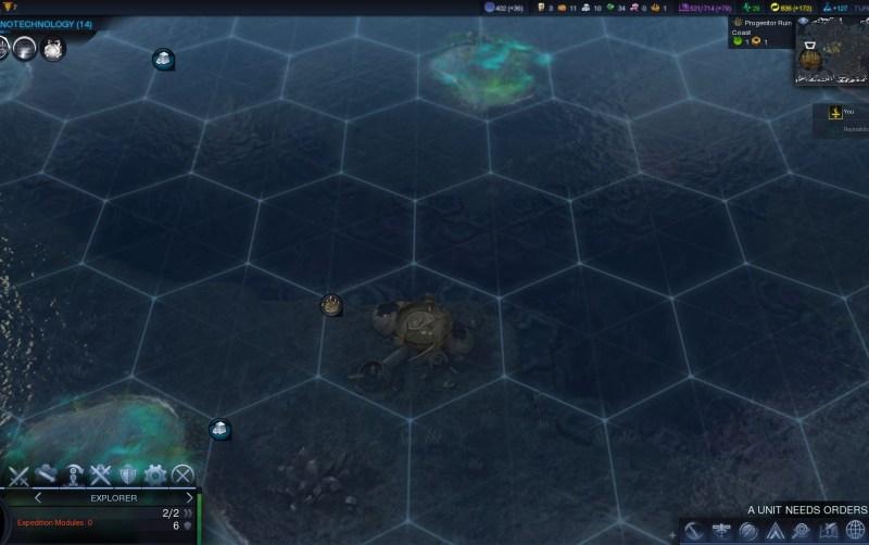 Civilization Beyond Earth — Руины предтеч можно найти на суше и в воде