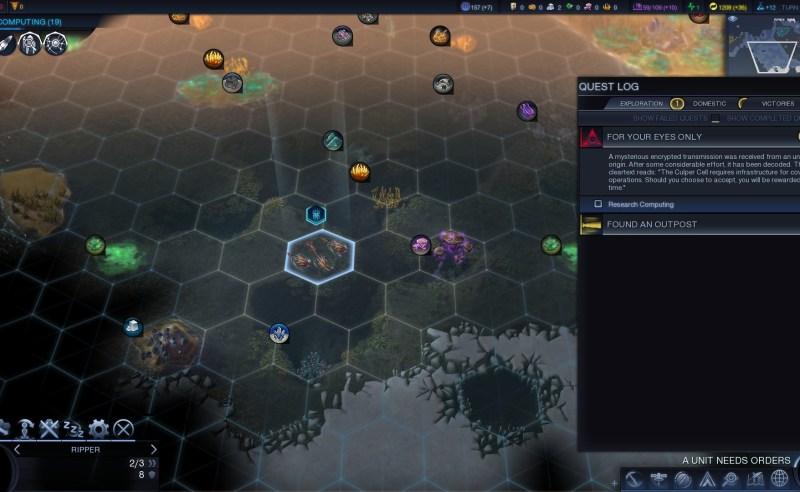 Civilization Beyond Earth — Начало основного шпионского квеста