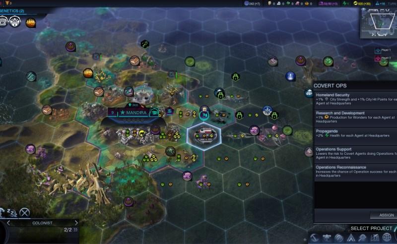 Civilization Beyond Earth — Проект национальной безопастности