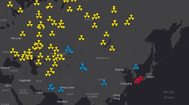 Все ядерные взрывы начиная с 1945 года