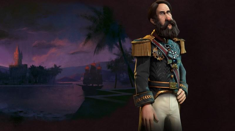 Педро II - лидер Бразилии в Sid Meier's Civilization VI