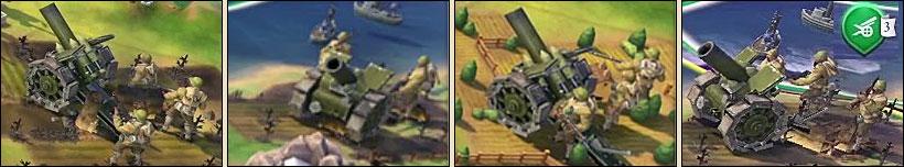 Артилерия в Sid Meier's Civilization VI