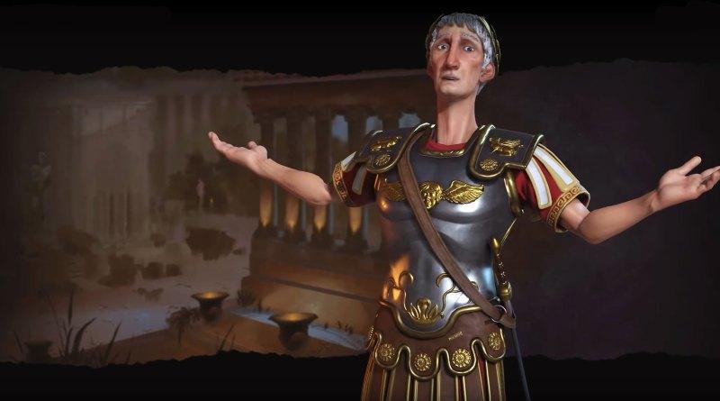 Траян - лидер Рима в Sid Meier's Civilization VI
