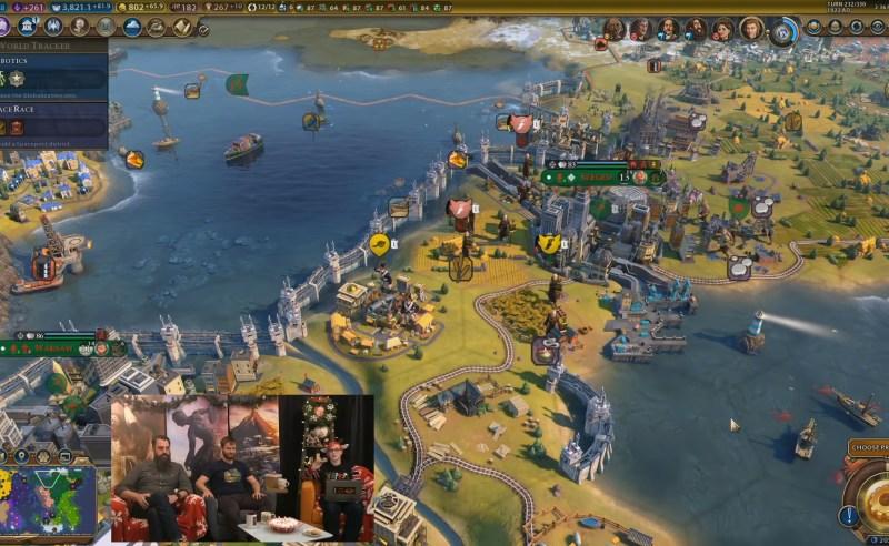 Civilization VI — Gathering Storm — Барьер от наводнений