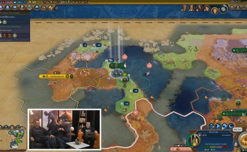 Civilization VI — Gathering Storm — Тайлы уязвимые для морских наводнений