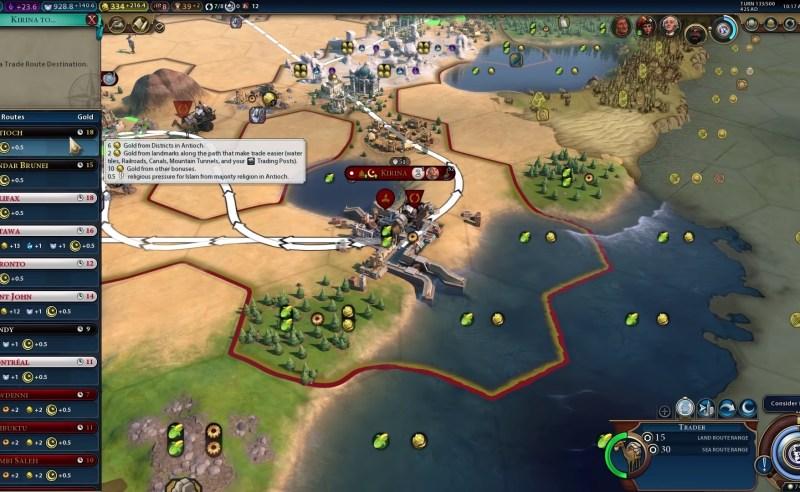 Civilization VI — Gathering Storm — Чудо природы «Фарафра»