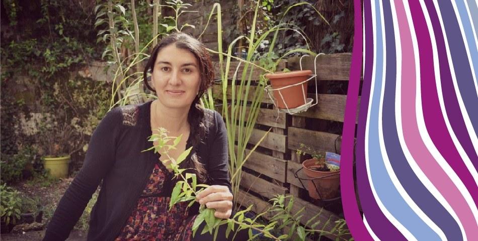 Portrait de Severine, adepte d aromatherapie et auteure du blog Herbiotiful