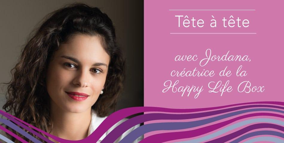 Jordana Le Gall, adepte de l'Happycurisme et fondatrice de Happy Life Box