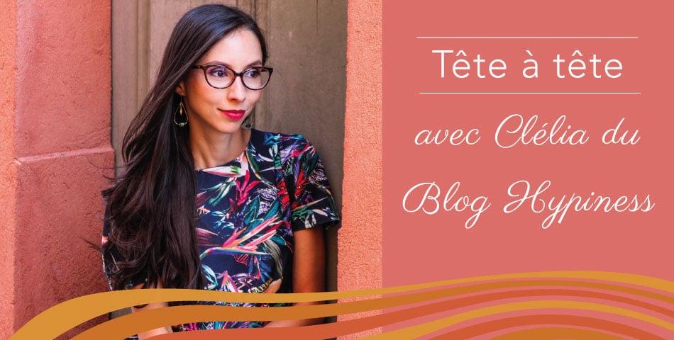 Portrait de Clélia du blog Hypiness
