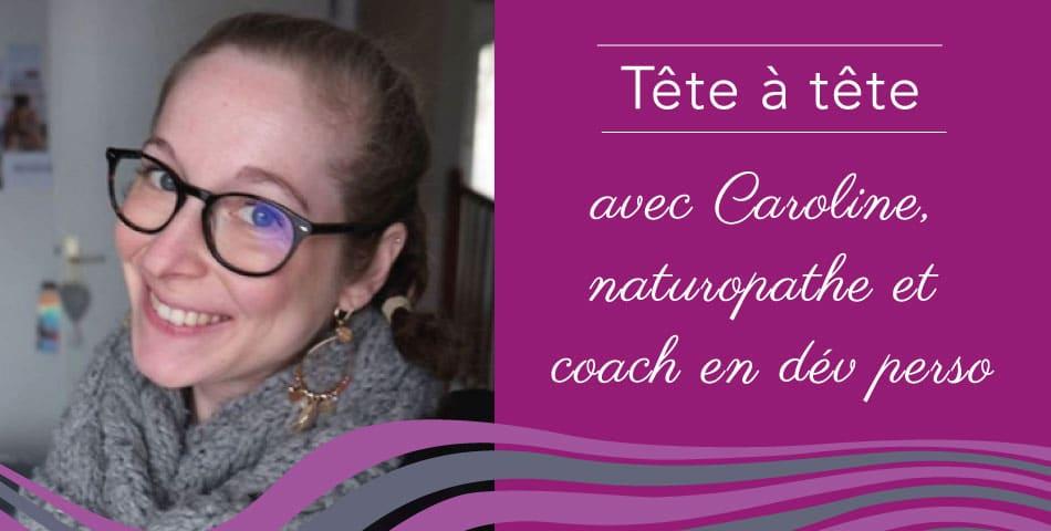 Caroline, coach en naturopathie et développement personnel à Marseille
