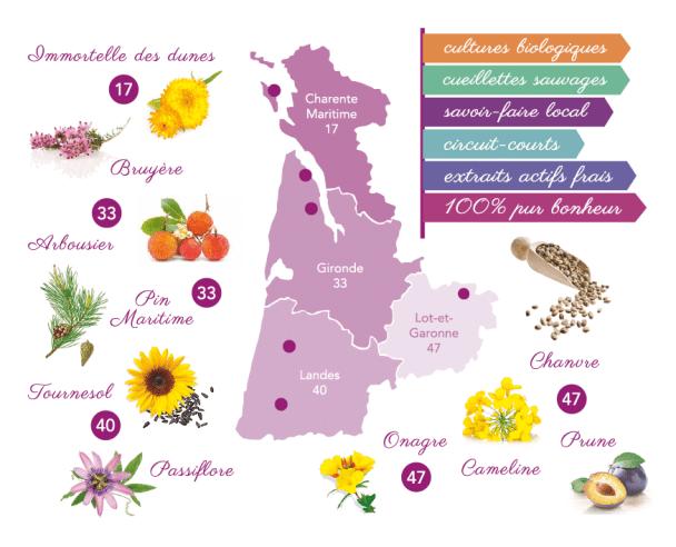 Cosmétiques bio vegan aux plantes locales françaises du Sud-Ouest, Les Happycuriennes