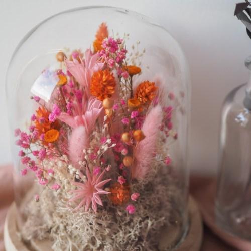 Cloche fleurie Daphnée