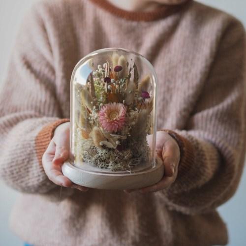Atelier cloche en fleurs séchées Dimanche 28 Février