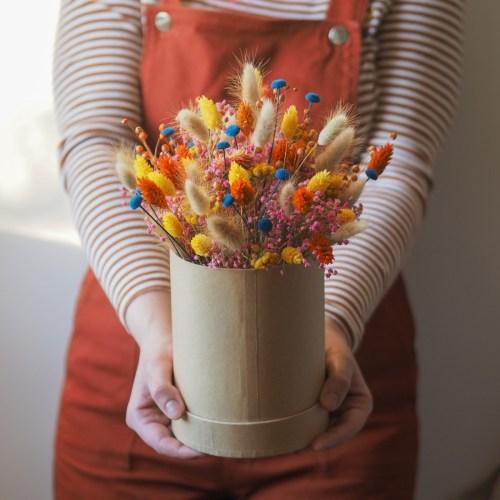 Atelier boite en fleurs séchées 11 Avril
