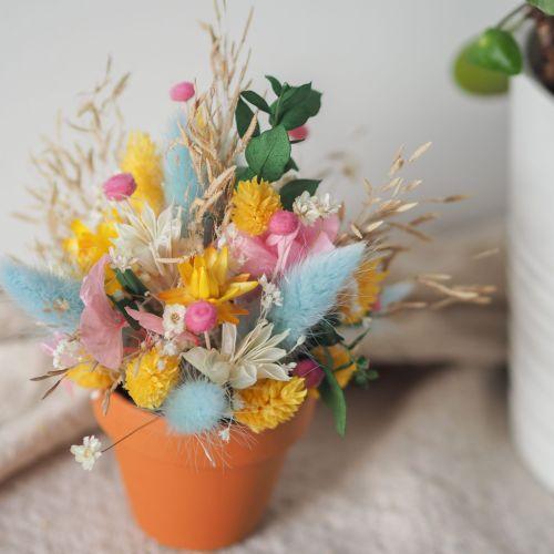 Mini pot fleuri Giulia (réalisé à la commande)