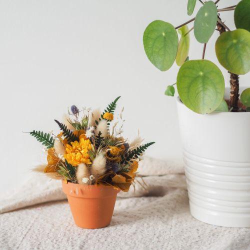 Mini pot fleuri Loise (réalisé à la commande)