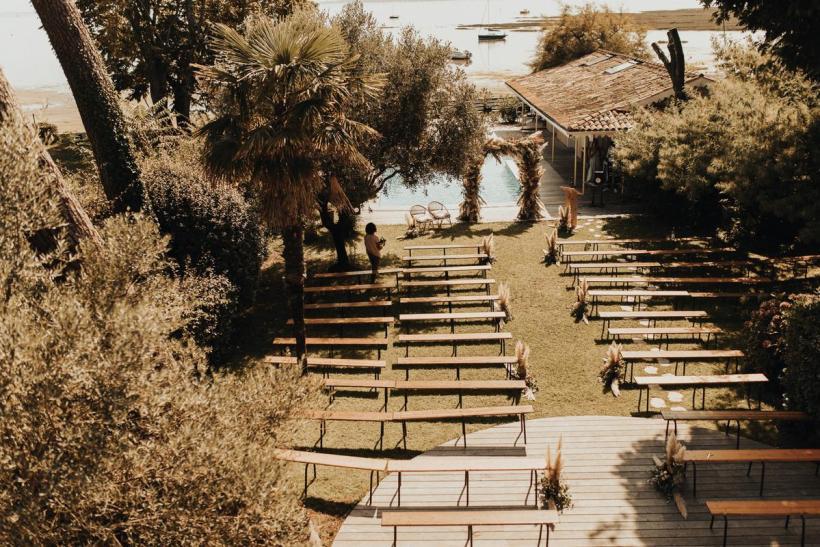 mariage au bord de mer au Cap Ferret