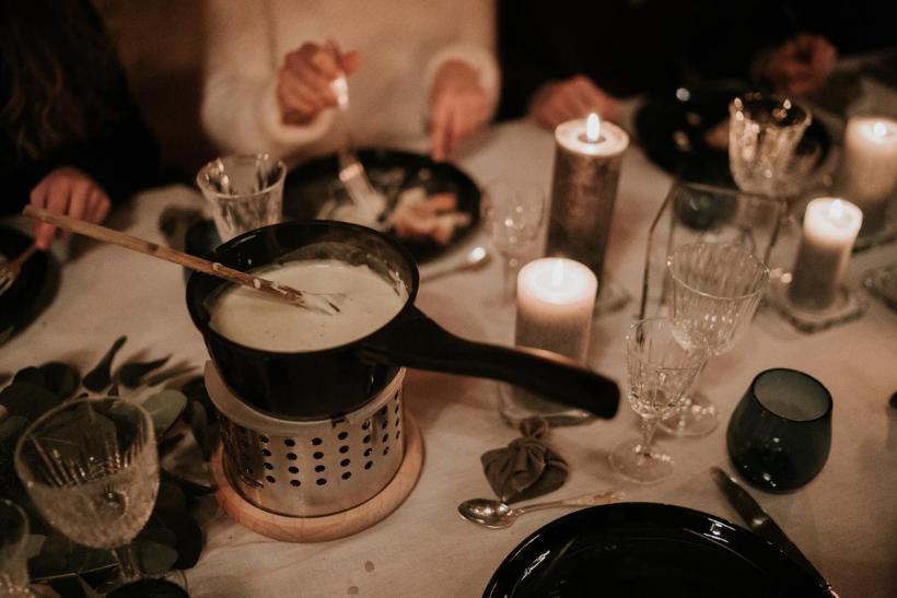 Fondue savoyarde au menu du mariage