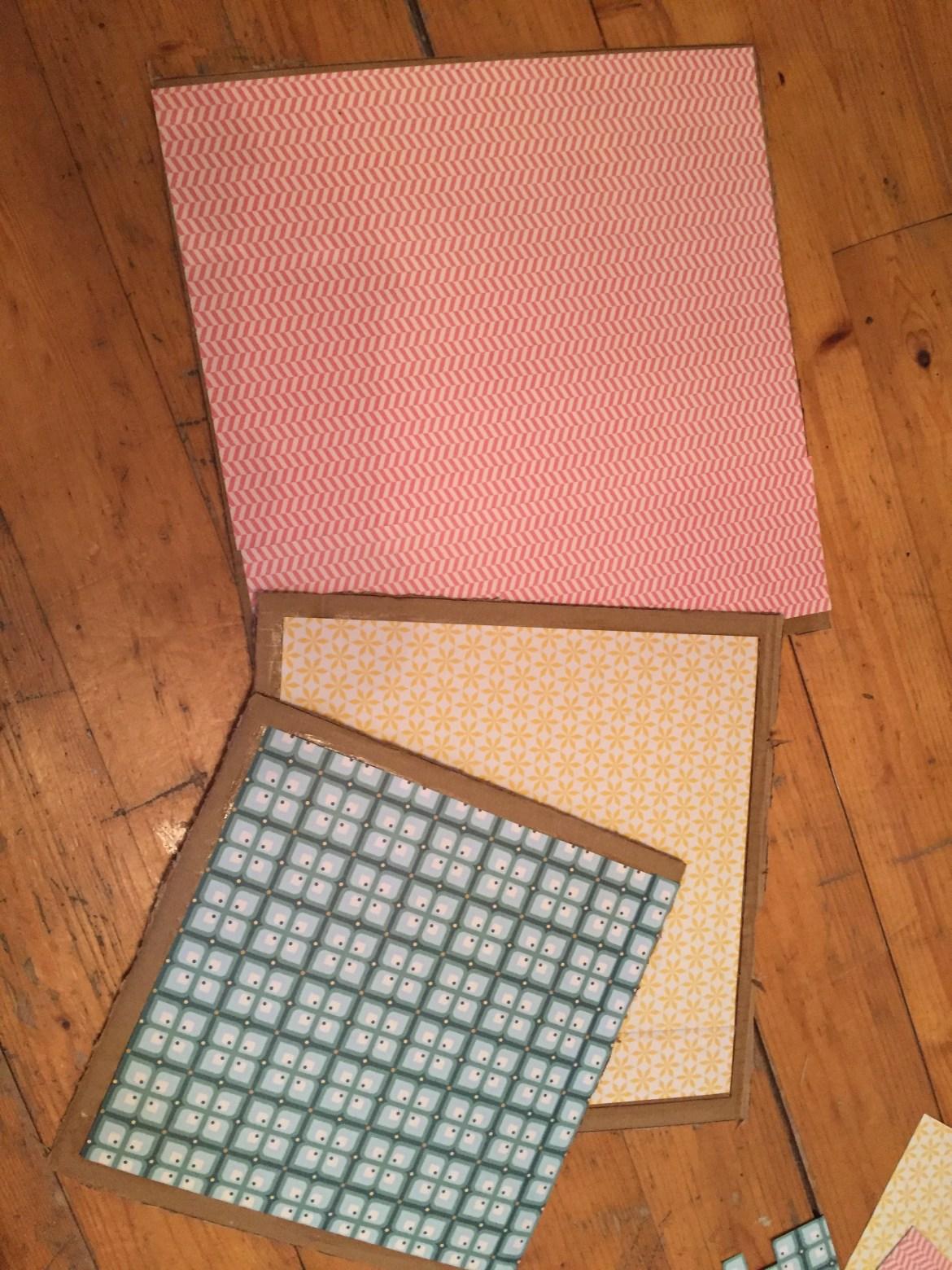 Comment customiser des étagères cubes.
