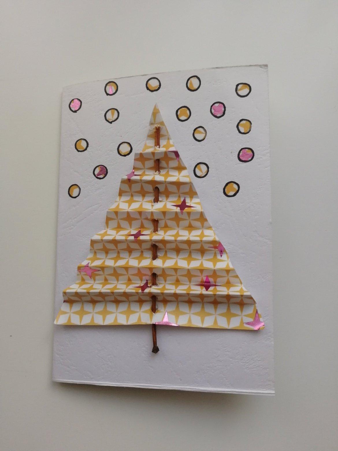 6 cartes de Noël fait maison
