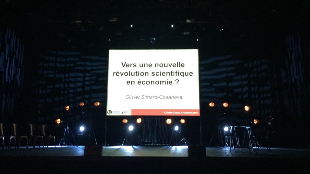 Vers une nouvelle révolution scientifique en économie ? Ou quand l'économie se fait rock star