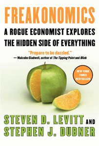 Couverture d'ouvrage : Freakonomics (English version)