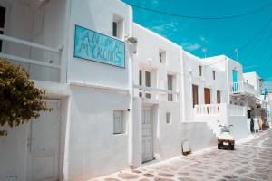 ile antique de Mykonos fait peau neuve