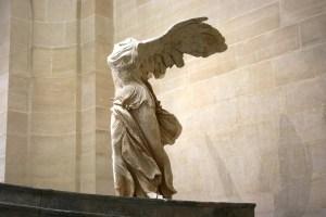 Victoire ailée la statue de Samothrace