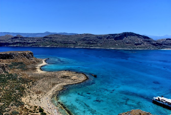 Balos - belles plages en Grèce