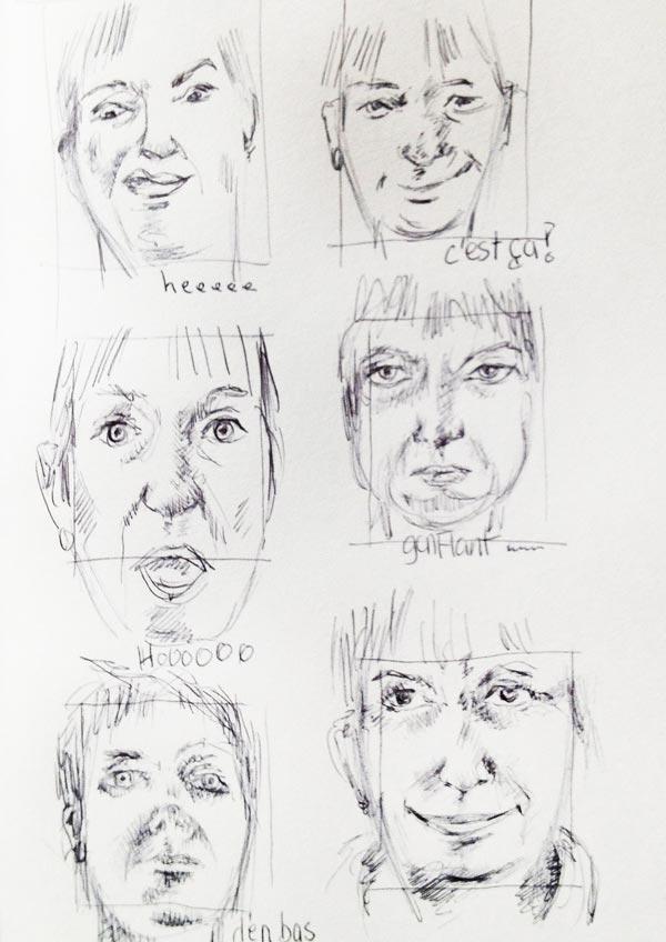 Auto-Portrait-stylo-Bic-12l