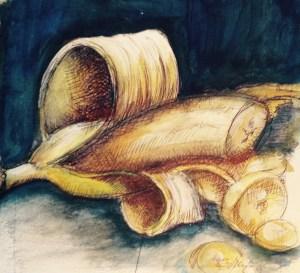 Banane-dessiner-carnet-voyage-1