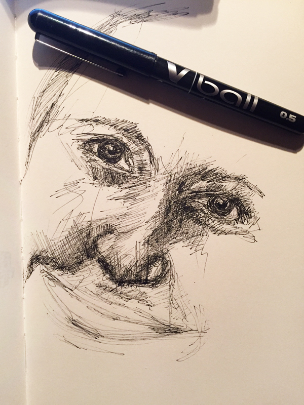 dessiner-pilot-stylo