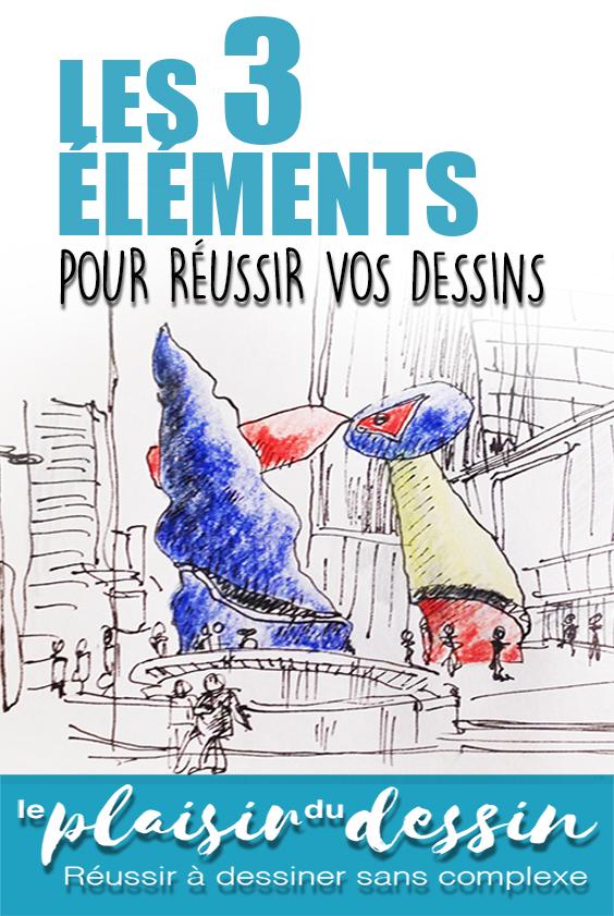 defense-3-elements-reussi-dessin