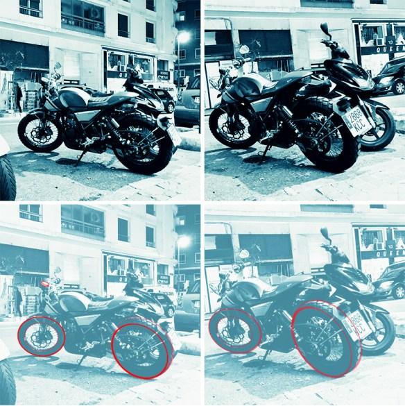 moto-rues-ronds-rouges-azul