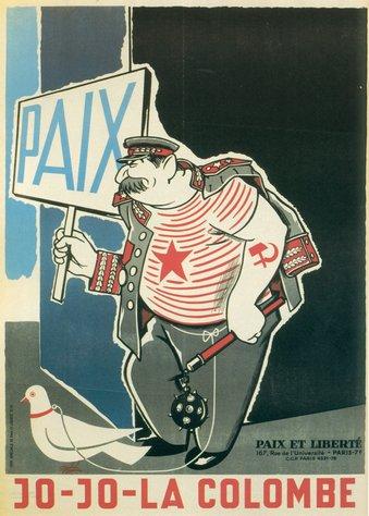 Caricature de Staline