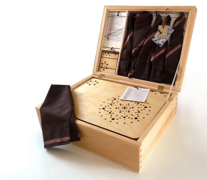 Drobni predmeti iz lesa - Kolekcija Dota