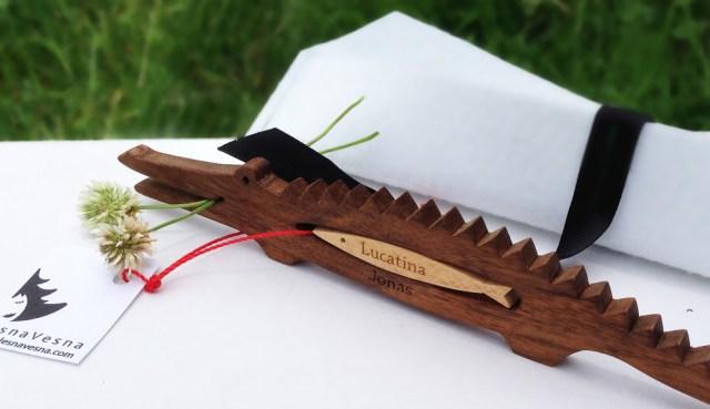 Drobni predmeti iz lesa - Krokodilčki